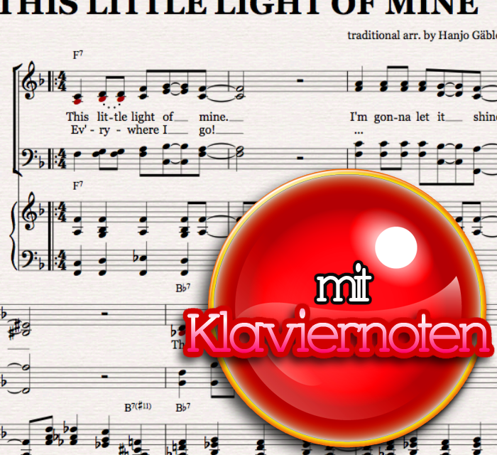 this little light of mine piano pdf